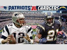 chargers vs patriots history