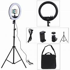 Inch Dimmable Ring Light Tripod by 14 Inch Photo Studio Lighting Led Ring Light 3200 5600k