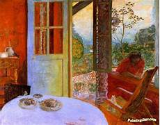 The Dining Room In The Country Bonnard