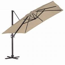 parasol d 233 port 233 pas cher r 233 ctangulaire inclinable