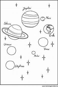 Ausmalbilder Sterne Und Planeten Planeten Als Malvorlage Und Ausmalbild Ausmalbilder