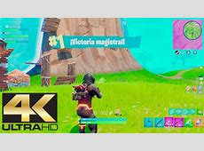 Fortnite Battle Royale en 4K Ultra HD (Calidad Increíble