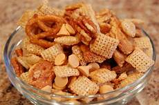 annies home butterscotch chex snack mix