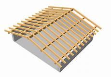 tetto a padiglione dwg la struttura portante