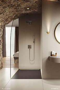 ebenerdige dusche und ebenerdige dusche mit sitzbank gefliest gemauert und