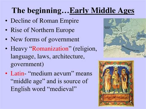 Beginning Of Middle Ages