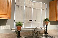ikea bed slats turned indoor shutters at the picket fence