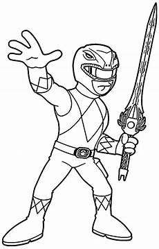 Malvorlagen Gold Coloriage Power Rangers Steel A Imprimer Try To Draw
