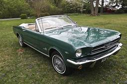 1964 1/2 FORD MUSTANG CONVERTIBLE 289 Green 1965