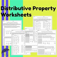 distributive property worksheets by my rainy day creations teachers pay teachers