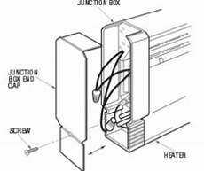 how to wire your baseboard heater