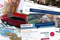 auto ohne bank finanzieren autokredit test acht banken autobild de