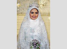 115  Muslim Bridal Wedding Dresses with Sleeves & Hijab
