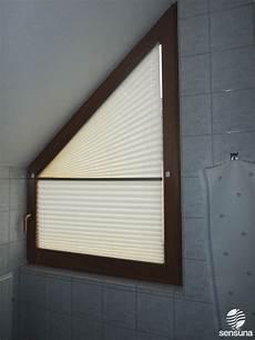 Verdunkelung Für Dreiecksfenster - plissees f 252 r dreiecksfenster und andere sonderformen