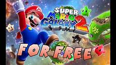 how to get mario galaxy 2 for free for pc