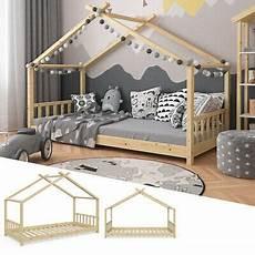 Hausbett Mit Zaun - vicco kinderbett hausbett design 70x140cm wei 223 zaun kinder