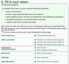 filling in the inland revenue self assessment online tax form part 2