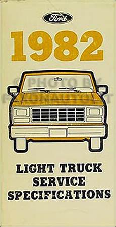 1982 Ford Bronco F100 F350 Courier Electrical