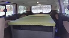 Ford Transit Bett Ausbau 6 Kofferraumausbauten