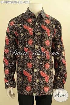 pusat baju batik solo elegan khas jawa tengah jual online kemeja lengan panjang motif bagus