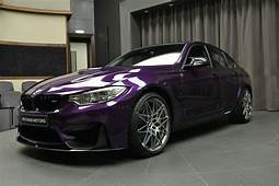 Individual BMW M3 Twilight Purple With The Competition