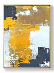 Original Orange Yellow Abstract Painting Abstract Painting