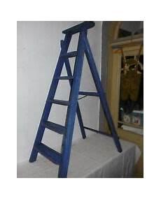 Treppenleiter Günstig Kaufen - holzleiter antik g 252 nstig kaufen ebay