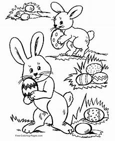 Easter Egg Hunt Coloring Sheets Free Printable Easter Egg Coloring Pages Coloring Home