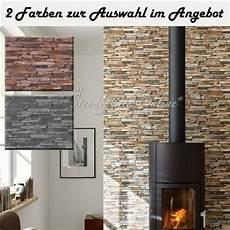 wandgestaltung hinter ofen tapete vliestapete stein naturstein mauer klinker tapeten fireplace wall wall design und stove
