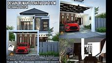 Desain Rumah 2 Lantai 7x18 M 4 Kamar Tidur