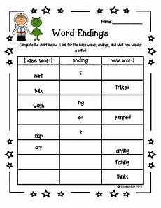 s ed ing worksheet inflected endings from katemoli teachersnotebook com 2 pages two