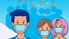 Gambar Kartun Orang Pakai Masker Ideku Unik