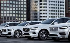 volvo s car line up to go all electric from 2019