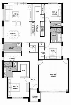 plan 149005and downsized exclusive 3 bed house plan floor plan friday 3 bedroom for the small family or down