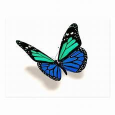 3d Butterfly Postcard Zazzle Co Uk