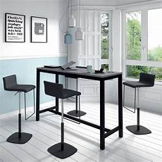 table haute de cuisine hauteur 110 cm en stratifi 233 et