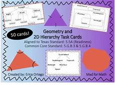 categorizing polygons worksheet 7963 geo classify 2d figures in hierarchy sets task cards 5 5a 5 g b 3 5 g b 4 a well student and