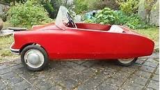voiture a pedale ancienne voiture a p 233 dale entrain 233 par une chaine ancienne ds molleret gu 233 rineau ebay