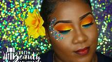 treasure carnival makeup tutorial