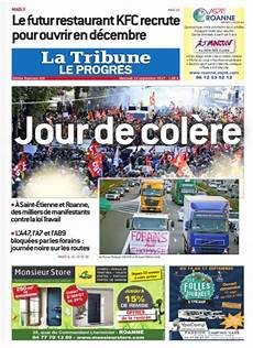 Le Progr 232 S Loire On Quot A La Une De La Tribune Le