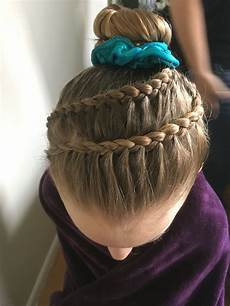 gymnastics competition hair braid hair gymnastics