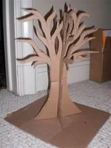baum basteln pappe tree ideas on cardboard tree trees and