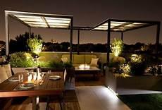 come arredare un terrazzo con pochi soldi come illuminare un terrazzo con l illuminazione al led