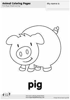 simple farm animals coloring pages 17459 black and white pig clip pig crafts pig drawing pig