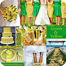wedding decor green and yellow il tondo e l ovale event and wedding colore matrimonio