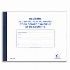 Registre Inspection Du Travail Comit 233 Hygi 232 Ne Securit 233