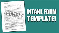 best intake form template for mental health assessment youtube