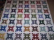 copriletti patchwork churn dash quilt