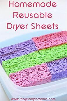 homemade sheets homemade reusable dryer sheets