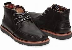 toms black men s chukka boots in black for men black lyst